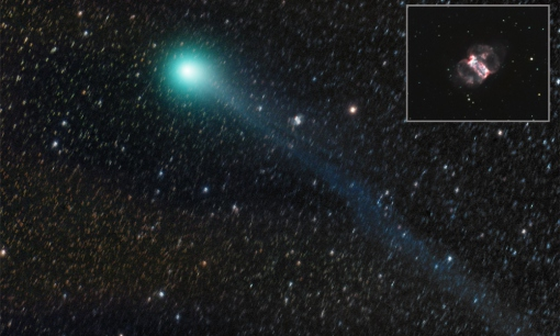 Komet C/2014 Q2 Lovejoy am 20.02.2015
